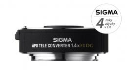 Detail produktu - SIGMA telekonvertor APO 1.4x EX DG Sigma