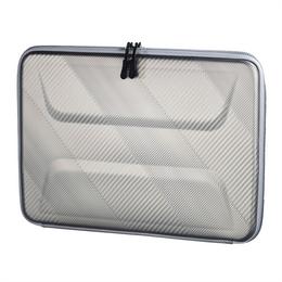 Hama obal na notebook Hardcase støíbrný, pro velikost 40 cm (15.6