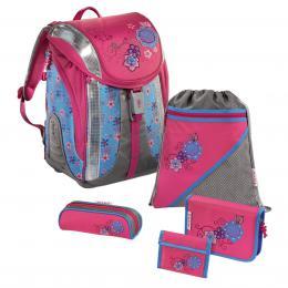 Školní batoh - 5-dílný set, Flexline Kvìtiny, certifikát AGR
