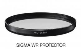 SIGMA filtr PROTECTOR 52mm WR, ochranný filtr základní vodìodpudivý