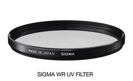 SIGMA filtr UV 105mm WR, UV filtr vodìodpudivý