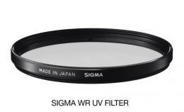 SIGMA filtr UV 52mm WR, UV filtr vodìodpudivý