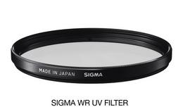 SIGMA filtr UV 82mm WR, UV filtr vodìodpudivý