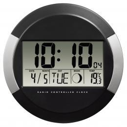 Hama digitální nástìnné hodiny PP-245,èerné