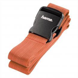 Detail produktu - Hama popruh na zavazadlo, 200x5 cm, oranžový