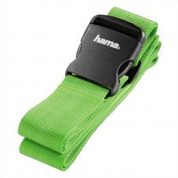 Detail produktu - Hama popruh na zavazadlo, 5x200 cm, zelený