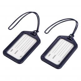 Detail produktu - Hama luggage Tag, set of 2, dark-blue