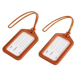 Hama identifikaèní štítek na zavazadlo, oranžový, set 2 ks (cena uvedená za set)