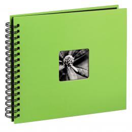 Hama album klasické spirálové FINE ART 36x32 cm, 50 stran, kiwi