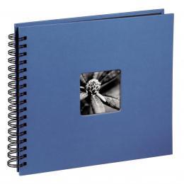 Hama album klasické spirálové FINE ART 36x32 cm, 50 stran, azurové