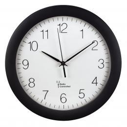 Hama nástìnné hodiny PG-300, øízené rádiovým signálem, èerné