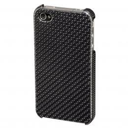 Detail produktu - Hama kryt Carbon pro Apple iPhone 4/4S, šedý