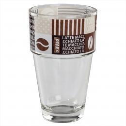 Xavax Coffee Love, sklenice, 380 ml, 9 ks v balení (cena uvedená za kus)