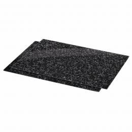 Xavax sklenìné kuchyòské prkénko Granite, 52 x 40 cm, set 2 ks