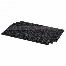 Xavax sklenìné kuchyòské prkénko Granite, 52 x 30 cm, set 3 ks