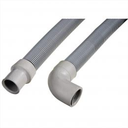 Xavax Drain Hose for all Washing Machines, Dishwashers, 2.5 m