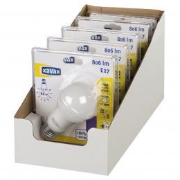 Xavax LED žárovka, 9,5 W (=60 W), E27, teplá bílá, blistr