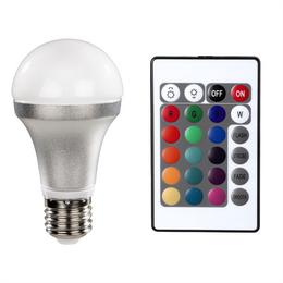 Xavax LED žárovka, E27, 820 lm (nahrazuje 60 W), 15 barev, dálkový ovladaè