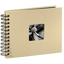 Detail produktu - Hama album klasické spirálové FINE ART 24x17 cm, 50 stran, taupe