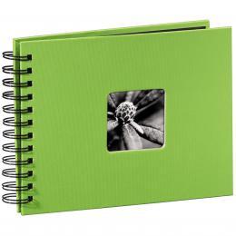 Hama album klasické spirálové FINE ART 24x17 cm, 50 stran, kiwi