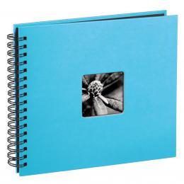 Hama album klasické spirálové FINE ART 28x24 cm, 50 stran, tyrkysové