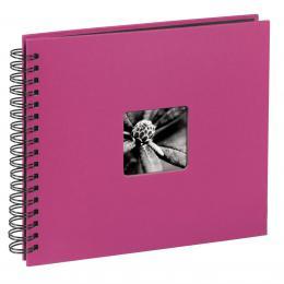 Hama album klasické spirálové FINE ART 28x24 cm, 50 stran, pink