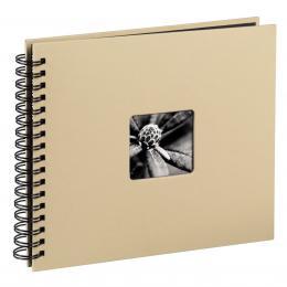 Hama album klasické spirálové FINE ART 28x24 cm, 50 stran, taupe