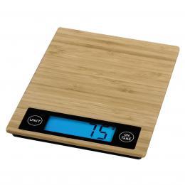 Xavax digitální kuchyòská váha Philina, bambusová