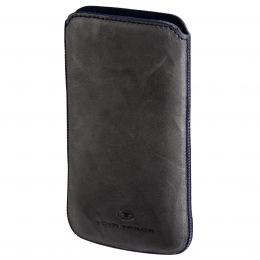 TOM TAILOR Crumpled Colors, pouzdro na mobil, velikost XL, šedé