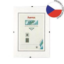 Hama clip-Fix, prùhledný plast, 62x93cm