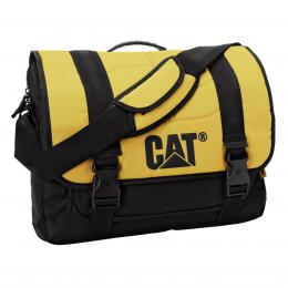 CAT Corey Millennial, taška pøes rameno, žlutá/ èerná, 17