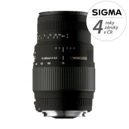 Detail produktu - SIGMA 70-300/4.0-5.6 DG MACRO Nikon (Motor Drive)