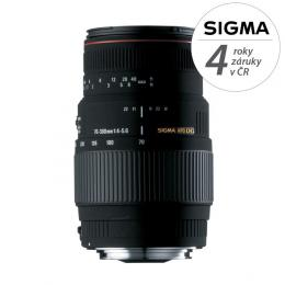 Detail produktu - SIGMA 70-300/4-5.6 APO DG MACRO Nikon (Motor Drive)