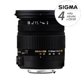 Detail produktu - SIGMA 17-50/2.8 EX DC HSM Pentax