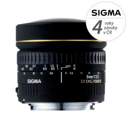Detail produktu - SIGMA 8/3.5 EX DG CIRCULAR FISHEYE Nikon