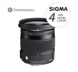 SIGMA 17-70mm F2.8-4 DC MACRO HSM Contemporary Pentax