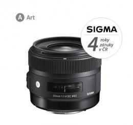 Detail produktu - SIGMA 30/1.4 DC HSM ART NIKON