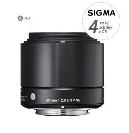 Detail produktu - SIGMA 60/2.8 DN ART černý OLYMPUS