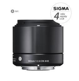 Detail produktu - SIGMA 60/2.8 DN ART černý SONY E mount