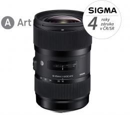 Detail produktu - SIGMA 18-35/1.8 DC HSM ART Nikon