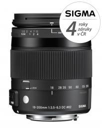Detail produktu - SIGMA 18-200/3.5-6.3 DC MACRO OS HSM Contemporary Nikon