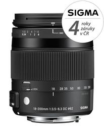 SIGMA 18-200/3.5-6.3 DC MACRO HSM Contemporary Pentax