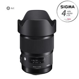 Detail produktu - SIGMA 20/1.4 DG HSM ART Nikon