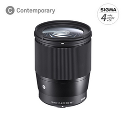 SIGMA 16/1.4 DC DN Contemporary SONY E Mount