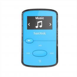 SanDisk MP3 Clip Jam 8 GB MP3, modrá
