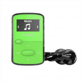 SanDisk MP3 Clip Jam 8 GB MP3, zelená