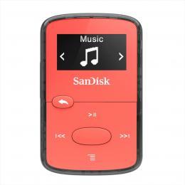 SanDisk MP3 Clip Jam 8GB MP3, èervená