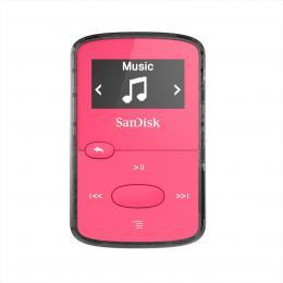 SanDisk MP3 Clip Jam 8 GB MP3, rùžová