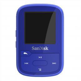SanDisk Clip Sport Plus 32 GB modrá