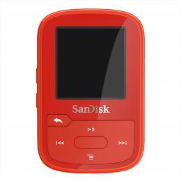 SanDisk Clip Sport Plus 32 GB èervená